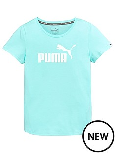 puma-older-girl-ess-logo-tee