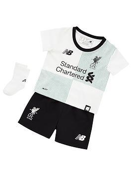 New Balance New Balance Liverpool Fc Away Baby Kit Set