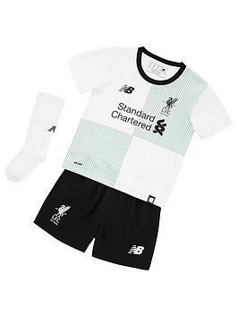New Balance New Balance Liverpool Fc Away Infant Kit Set