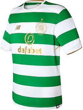 New Balance Celtic Fc Home Short Sleeved Shirt