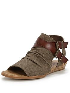 blowfish-brisa-buckle-flat-sandal