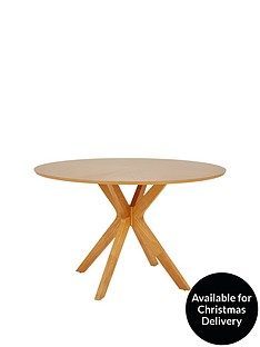 starburst-119-cm-oak-veneer-circular-dining-table