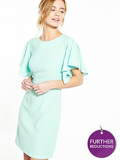 v-by-very-petite-petite-angel-sleeve-woven-dress