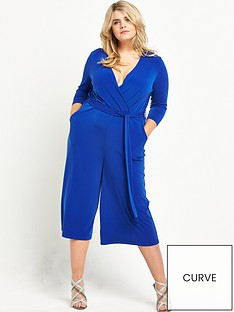 v-by-very-curve-wrap-culotte-jumpsuit-cobalt-blue