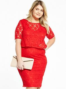 so-fabulous-double-layer-lace-midi-dress-red