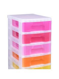 really-useful-box-really-useful-tower-11-x-7l-rainbow-drawers