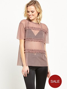 river-island-mesh-frill-top-purple
