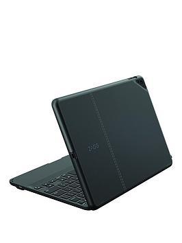 Zagg Zagg Stylish &Amp Protective MultiAngled Folio Case &Amp Wireless Bluetooth Keyboard With Backlit Keys (9.7Inch) For Apple Ipad Pro  Black