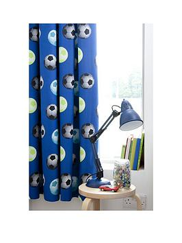 Catherine Lansfield Catherine Lansfield Football Lined Curtains Picture
