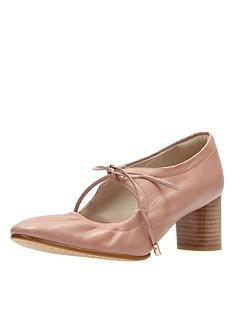 clarks-grace-isla-dusty-pink-lace-shoe