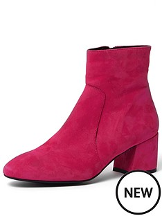river-island-river-island-bright-pink-flare-heel-ankle-boot
