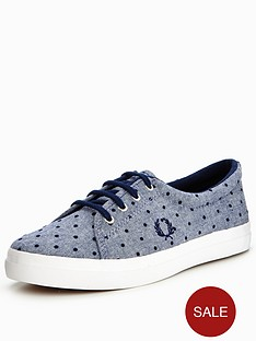 fred-perry-aubyn-flocked-chambray