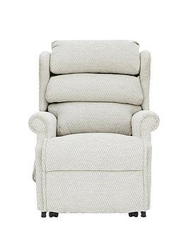 Very Hampton Power Lift &Amp; Tilt Fabric Recliner Armchair Picture