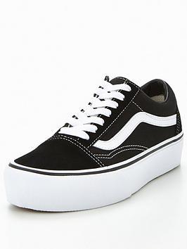 Vans Vans Old Skool Platform - Black/White Picture