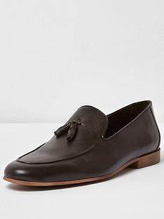 river-island-mens-tassel-leather-loafer