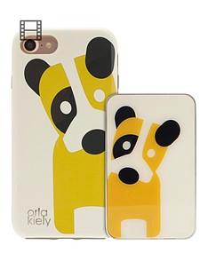 orla-kiely-orla-kiely-iconic-fashion-hardshell-duo-phone-case-pack-amp-portable-battery-charger-power-bank-bundle-for-iphone-7-dog-design