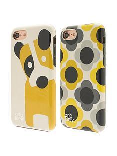 orla-kiely-orla-kiely-mini-portable-charging-power-bank-for-all-iphoneipadsmartphone-amp-all-usb-enabled-devices-dog-amp-giant-flower-spot-design