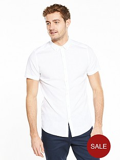 v-by-very-short-sleeve-linen-shirt