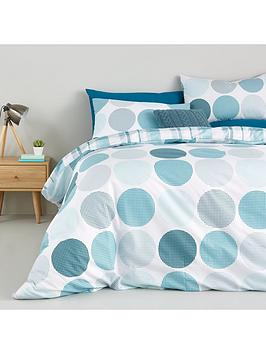 Catherine Lansfield Falmouth Duvet Cover Sets  Twin Pack
