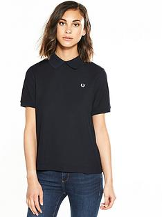fred-perry-mesh-collar-t-shirt