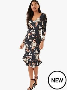 girls-on-film-ls-floral-midi-dress