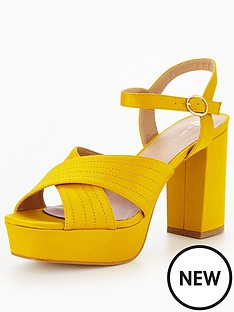 v-by-very-rose-satin-platform-sandal--mustard
