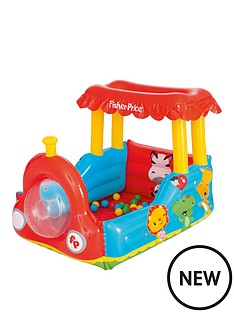 bestway-fisher-price-train-ball-pit