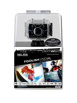 Nilox Foolish Special Full HighDefinition Video Action Camera With Digital Zoom