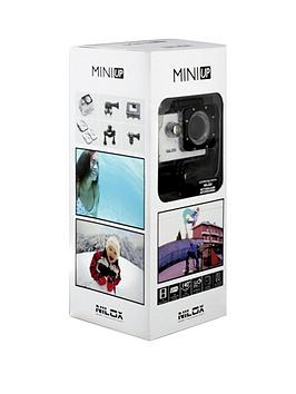 Nilox Mini Up 720P Video Action Camera With Lcd Screen