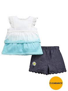 ladybird-baby-girls-ombre-top-and-chambray-short-set