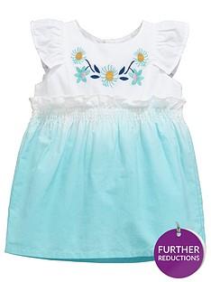ladybird-ladybirdnbspbaby-girls-woven-ombre-floral-dress
