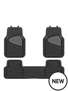 streetwize-accessories-premium-deluxe-black-car-mat-set