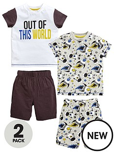 mini-v-by-very-toddler-boys-2pk-space-shortie-pjs