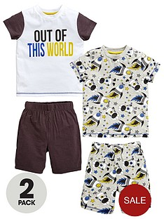 mini-v-by-very-toddler-boys-2pk-space-slogan-short-pjs