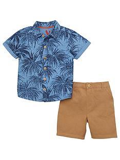 mini-v-by-very-toddler-boys-palm-print-shirt-amp-chino-set