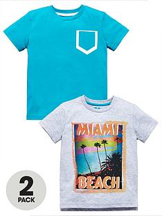 mini-v-by-very-toddler-boys-2pk-miami-beach-tshirts