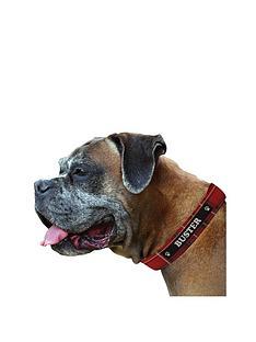 personalised-tartan-dog-collar