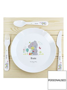 tiny-tatty-teddy-personalised-plate-cutlery-set