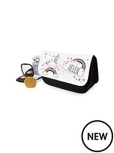 personalised-unicorn-make-up-bag