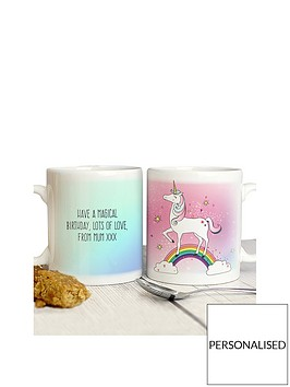 personalised-unicorn-mug