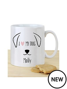 personalised-i-love-my-dog-mug