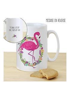 personalised-flamingo-mug