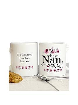 Very Personalised Best Nan Mug Picture