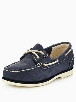 Timberland Classic Leather Boat Shoes