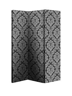 arthouse-black-damask-room-divider
