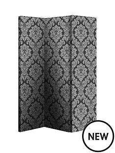 arthouse-black-damask-room-divider