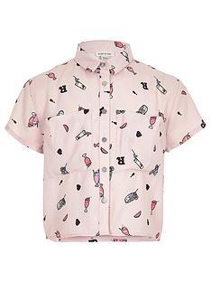 river-island-girls-pink-milkshake-print-cropped-shirt