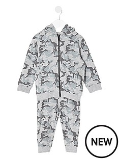 river-island-mini-mini-boys-grey-camo-hoodie-and-joggers-set