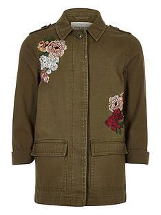 river-island-girls-khaki-floral-embroider