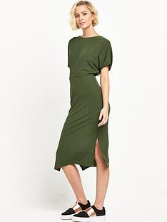 river-island-batwing-dress-khaki